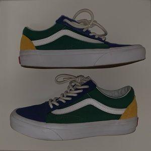 Vans ( Multi Color )  Size 4